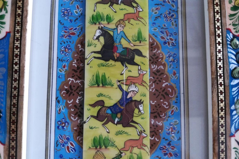 Cadre peinture miniature persane_Galerie Shirazi_Pau_A2SA.b