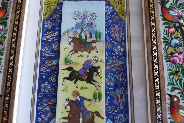 Cadre peinture miniature persane_Galerie Shirazi_Pau_A3SB.b