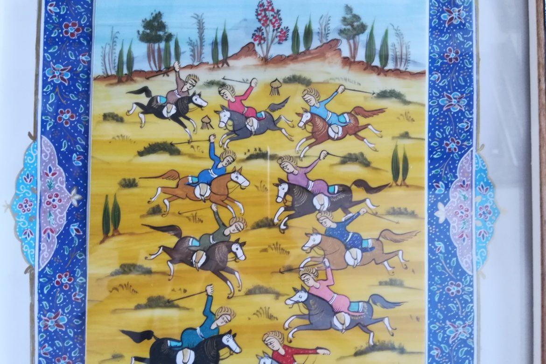 Cadre peinture miniature persane_Galerie Shirazi_Pau_A6SB.b