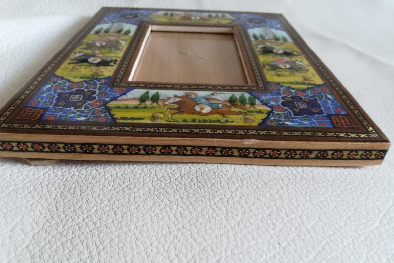 Cadre photo peinture miniature persane_Galerie Shirazi_Pau_A19SB.b