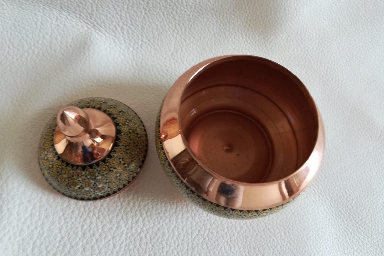 Grand sucrier en cuivre émaillé_Galerie Shirazi_Pau_C9SA.b