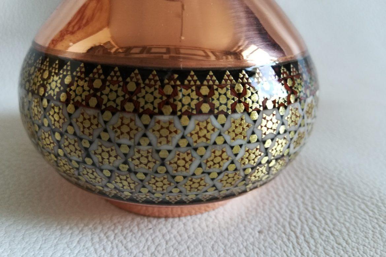 Petit vase cuivre émaillé_Galerie Shirazi_Pau_C1SB.a