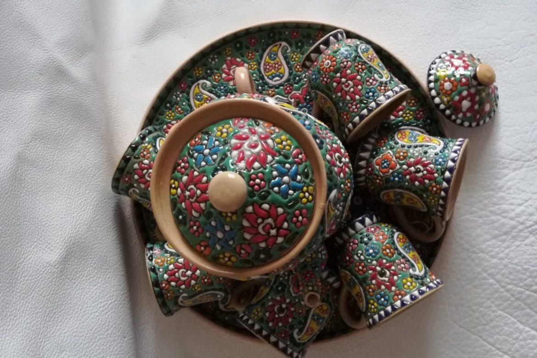 Service à thé persan céramique_Galerie Shirazi_Pau_B11S.b