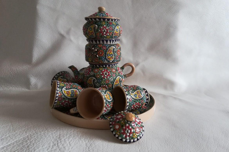 Service à thé persan céramique_Galerie Shirazi_Pau_B11S.c