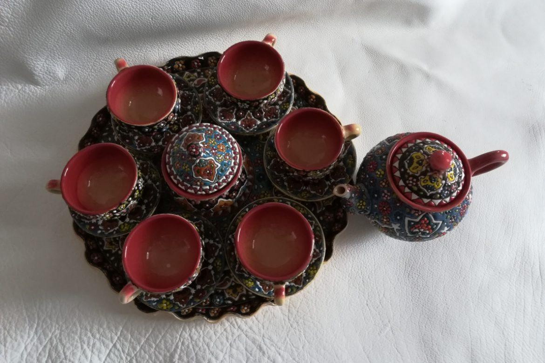 Service à thé persan céramique_Galerie Shirazi_Pau_B12S.b