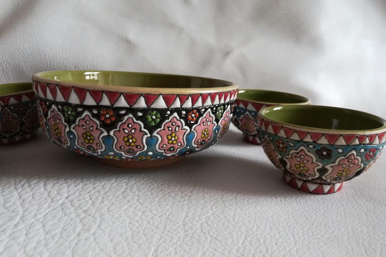 Set coupelles apéritif persan céramique_Galerie Shirazi_Pau_B19S.b