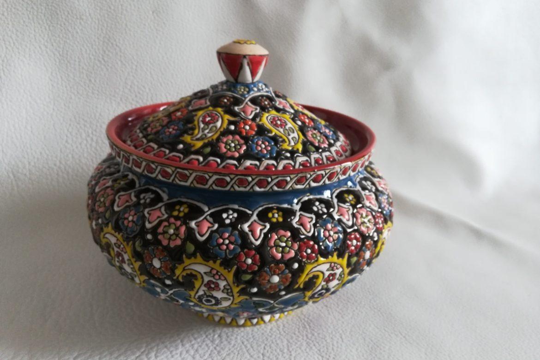 Soupière perse céramique_Galerie Shirazi_Pau_B30SB