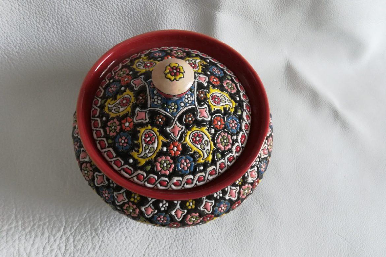 Soupière perse céramique_Galerie Shirazi_Pau_B30SB.a