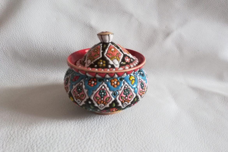 Sucrier persan céramique_Galerie Shirazi_Pau_B22SA