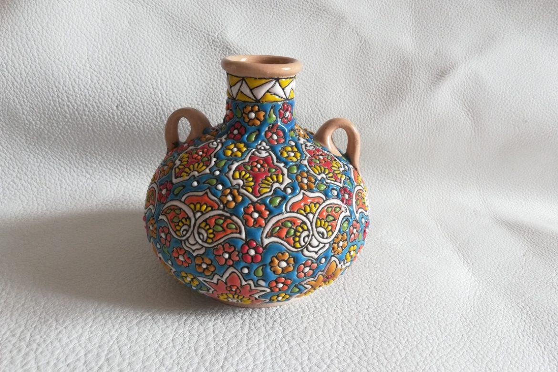 Vase persan céramique_Galerie Shirazi_Pau_B10SA