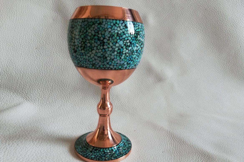 Verre cuivre et turquoise_Galerie Shirazi_Pau_C14SB