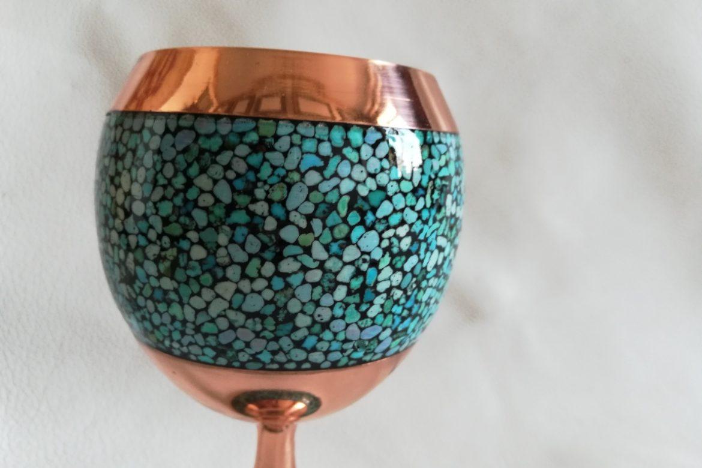 Verre cuivre et turquoise_Galerie Shirazi_Pau_C14SB.a