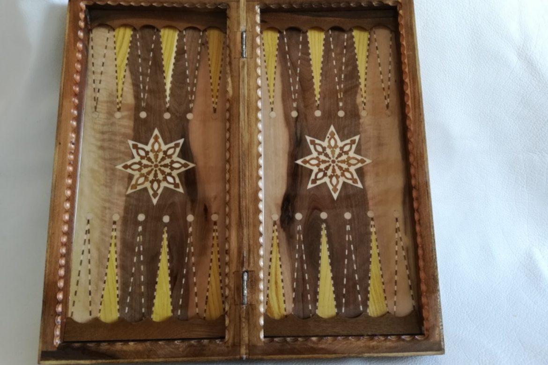 Galerie Shirazi_Pau_Backgammon_échecs_Setareh