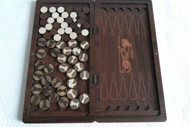 Galerie Shirazi_Pau_Backgammon_échecs_voyage